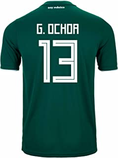 G. Ochoa #13 Mexico Home Soccer Stadium Men's Jersey World Cup Russia 2018