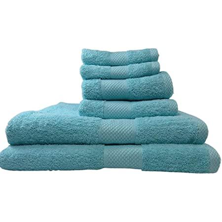100/% Egyptian Cotton Super Soft and Absorbent 10pcs Toronto Towels Bale Sets GC