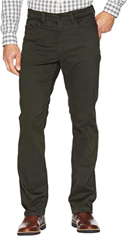 Charisma Relaxed Fit in Dark Green Twill