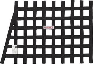 G-Force 4134BK Black Angled Front Ribbon Window Net