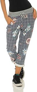 48ef95372f3817 cleostyle Damen Jogginhose im Boyfriend-Style Sweatpants für Freizeit Sport  und Fitness 9-2