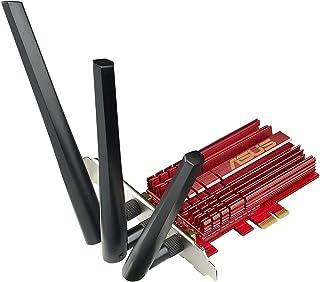 ASUS PCE-AC68 Dual-Band PCI-E Wireless AC1900 Card