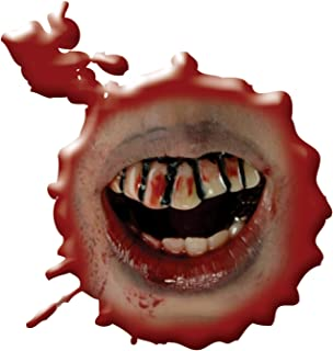 Inspired By The Walking Dead Bloody Teeth Adult Costume Accessory