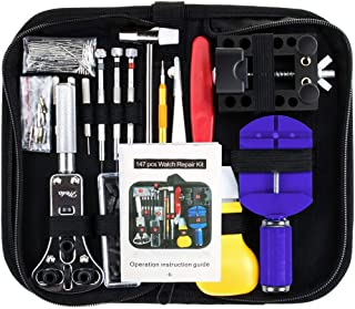 Vastar Watch Repair Kit Professional Spring Bar Tool Set, Watch Band Link Pin Tool Set..