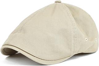 e49b09ef065 VOBOOM Cotton Washing Flat Cap Cabbie Hat Gatsby Ivy Irish Hunting Newsboy