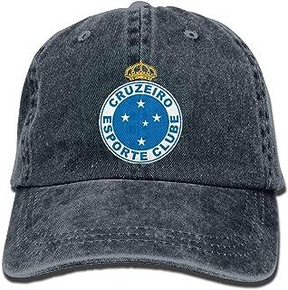 RT-YQQO Cruzeiro Soccer Club Unisex Adjustable Cowboy Cap Trucker Cap Baseball Cap
