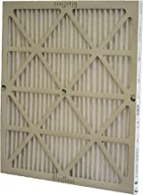 Glasfloss Industries ZLP20254 Z-Line Series ZL 20x25x4 MERV 10 Pleated Filter (Pack of 6)