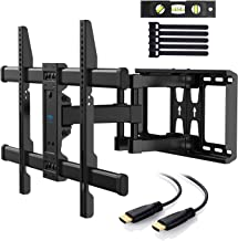 PERLESMITH TV Wall Mount Bracket Full Motion Dual Articulating Arm for Most 37-70 Inch..