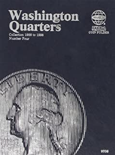 Washington Quarters: Collection 1988 to 2000, Number Four (Official Whitman Coin Folder)