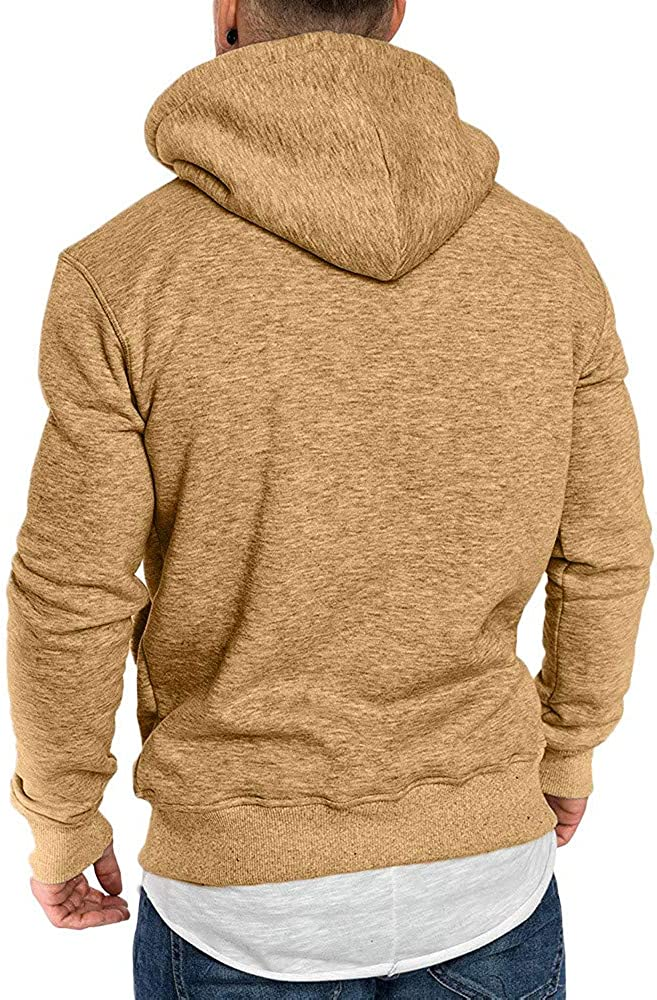 Cookinty Hoodies for Men Pullover Camouflage Sweatshirt Workout Sports Sweater Comfy Loose Long Sleeve Hoodies Tops