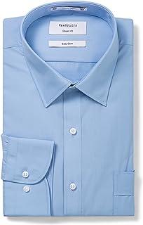 Van Heusen Men's Classic-Relaxed Fit Poplin Business Shirt