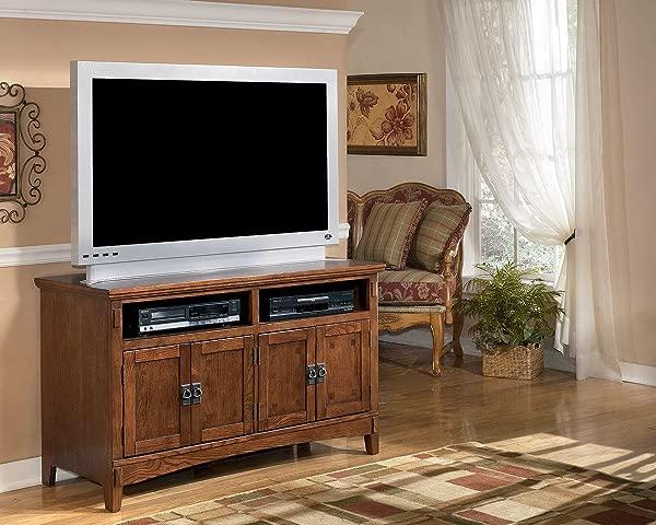 Ashley Furniture Signature Design Cross Island 50 TV Stand In Brown
