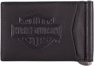Harley-Davidson Geldbörse Herren Damen Portemonnaie Leder Kleingeld Beutel SALE