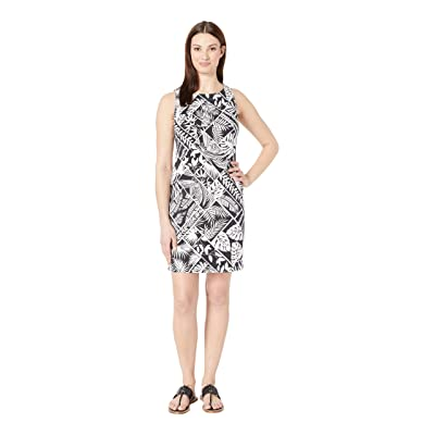 Tommy Bahama Frond of A Frond Sheath Dress (Black) Women