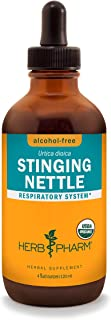Herb Pharm Certified Organic Stinging Nettle Blend Liquid Extract, Alcohol-Free Glycerite, 4 Ounce