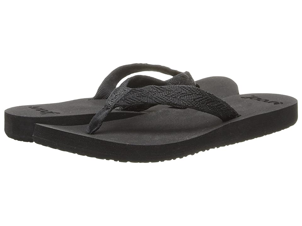 Reef Mid Seas (Black/Black) Women