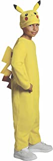 Rubie's Pokemon Child's Deluxe Pikachu Costume - One Color - Medium