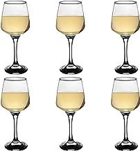 Argon Tableware 'Tallo' Contemporary White Wine Glasses - Gift Box Of 6 Glasses - 295ml (10oz)