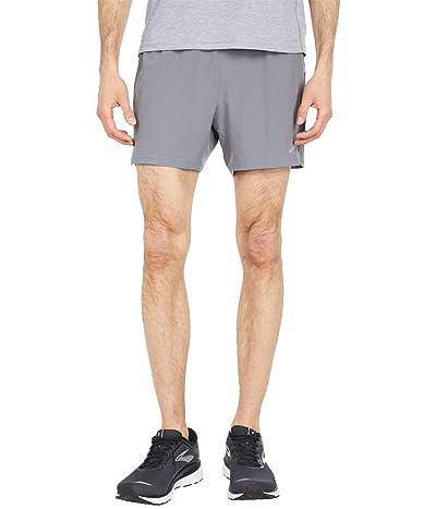 Brooks Sherpa 5 Shorts (Steel/Ash) Men