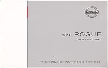 2016 Nissan Rogue Owner's Manual Original