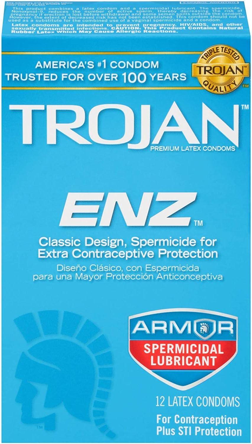 Condom New product!! ENZ Now on sale Spermicidal 3 Boxes Condoms 12