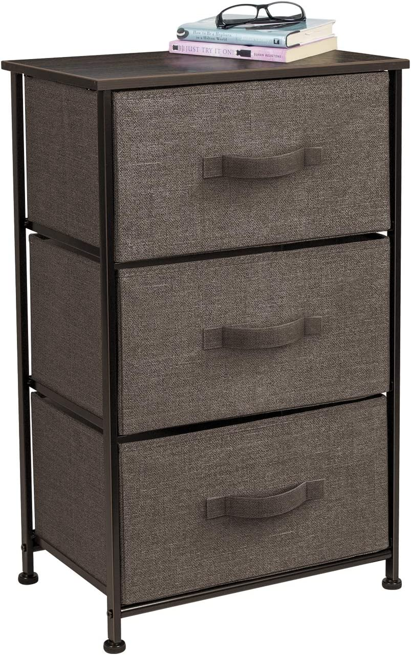 Columbus Mall Sorbus Nightstand with 3 Price reduction Drawers - Accent Furniture En Bedside