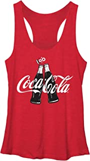 Coke Clink Juniors Racerback Tank Top