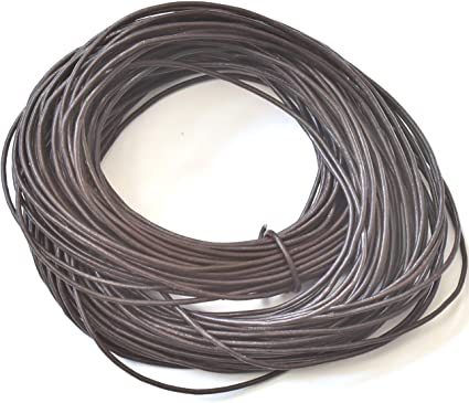4 mm  Natural Leather Cord 10 Meter Hank  for necklaces and bracelts