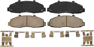 Wagner QuickStop ZD679 Ceramic Disc Pad Set Includes Pad Installation Hardware, Front