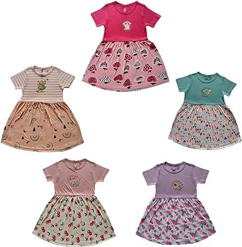 RAMOLA Baby Girls' Knee Length Dress