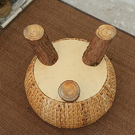 LJL Fashion Creative Small Furniture Anti-Slip Stool Footstool Work Stool Step Stool Coffee Tabl