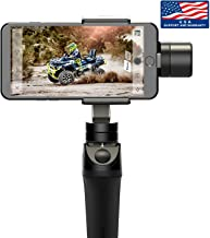 Official Site: Freevision VILTA-M Handheld iOS/Android Stabilizer Gimbal. Most Ergonomic Handgrip Design w/Rubberized Grip, Metal Solid Build. Infinite 360 Pan. Easy to Use FV Share APP