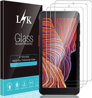 LϟK 3 Pièces Verre Trempé pour Samsung Galaxy Xcover 5 - Protection Écran Sans Bulles Ultra Transparent Dureté Haute Défin...