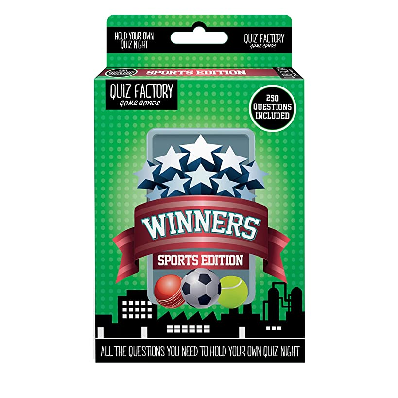 50 Card 250 Question Sports Trivia Quiz Game