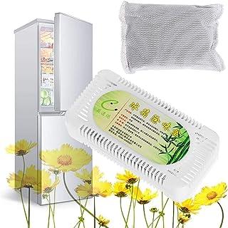 KTSWP 5 Pièces Fridge Désodorisant pour Frigo Absorbeur Naturel Odeur Boîte Purification Frigo de Réfrigérateur d'Ozone Pu...