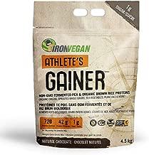 Iron Vegan Athlete's Gainer Chocolate, 10 lbs