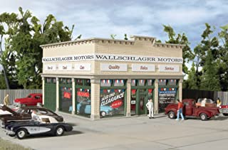 Walthers Trainline HO Scale Wallschlager Motors Building