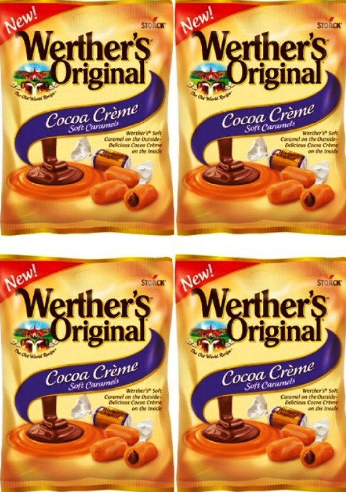 Werther's Original New Cocoa Creme Soft Sacramento ! Super beauty product restock quality top! Mall 2.22 Oz o Pack Caramels