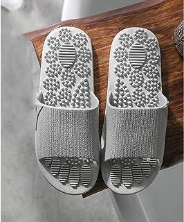zxb-shop أحذية منزلية شباشب تدليك علاجي للقدم تدليك تدليك تدليك شياتسو قوس الألم حذاء للحمام دش المرأة الصيف