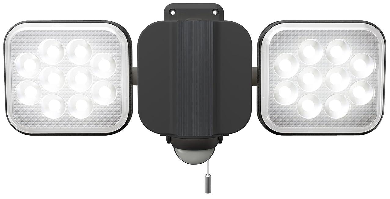九ガチョウ勝者ムサシ RITEX フリーアーム式LEDセンサーライト(12W×2灯) 「コンセント式」 防雨型 LED-AC2024