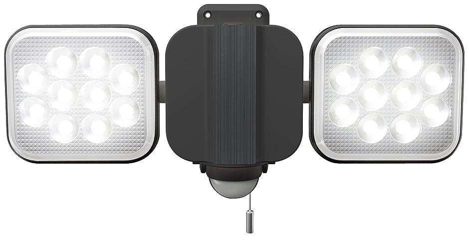 クック迅速正しいムサシ RITEX フリーアーム式LEDセンサーライト(12W×2灯) 「コンセント式」 防雨型 LED-AC2024