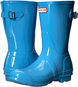 Hunter - Original Back Adjustable Short Gloss Rain Boots