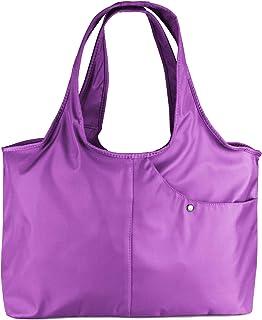 ZOOEASS Women Fashion Large Tote Shoulder Handbag Waterproof Tote Bag  Multi-function Nylon Travel Shoulder 0fe43f0c3ce24