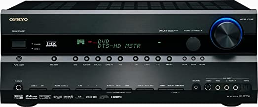 Onkyo TX-SR706 7.1 Channel Home Theater Receiver (Black) (Discontinued by Manufacturer)