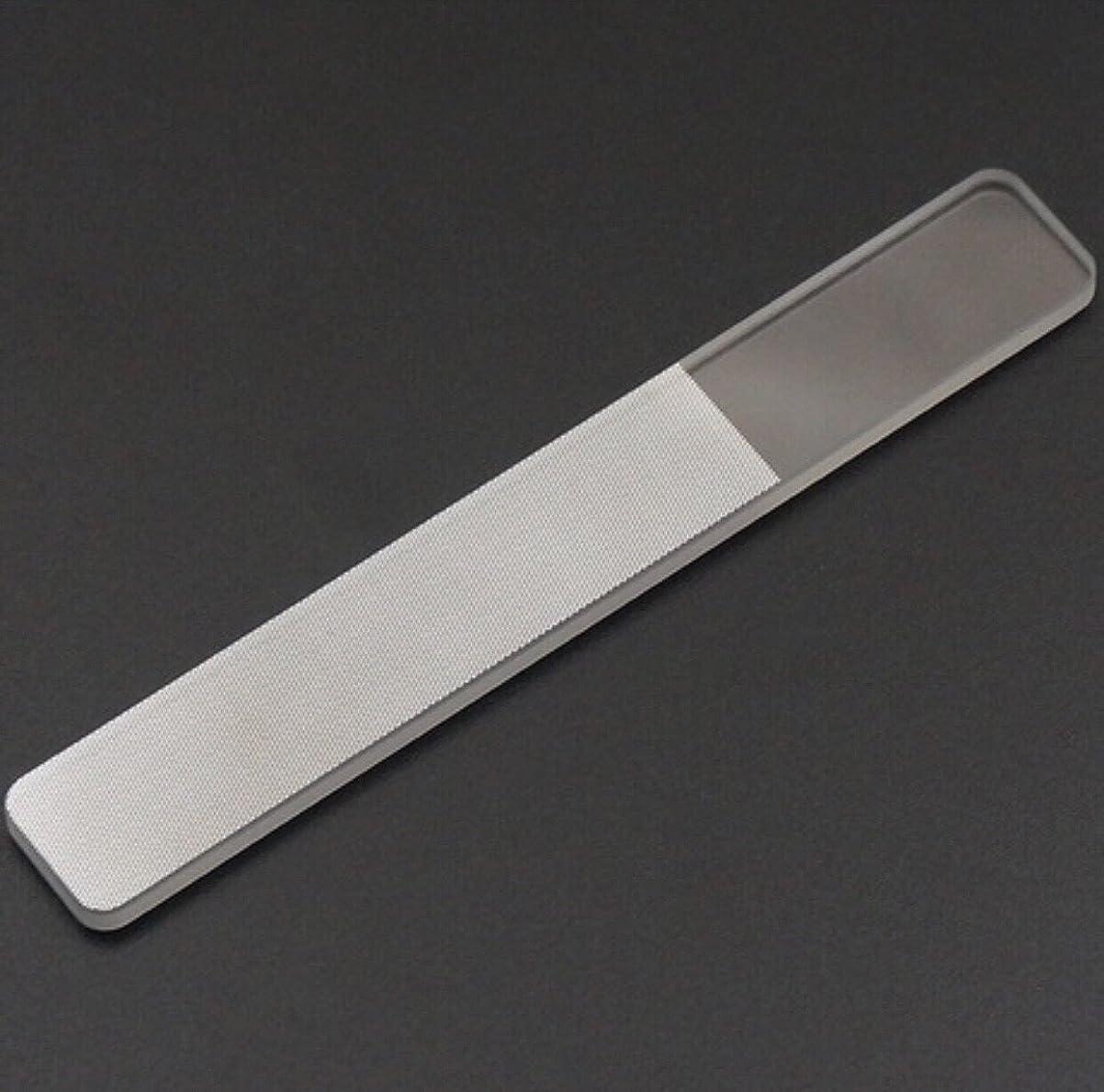 シチリア見分ける超える【ネイルウーマン】爪やすり ガラス製 (ケース付き) 爪磨き ネイルケア用品