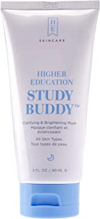 Sponsored Ad - Higher Education Skincare: Study Buddy - Purifying, Brightening and Exfoliating Mask Bentonite Clay Face Ma...
