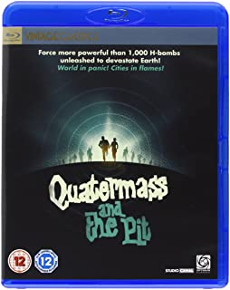 Quatermass and the Pit Five Million Years to Earth  The Mind Benders Quarter mass & the Pit  NON-USA FORMAT Reg.B United Kingdom
