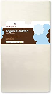 Naturepedic No Compromise Organic Cotton Classic 150 Seamless Crib Mattress
