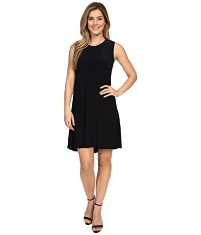 KAMALIKULTURE by Norma Kamali Sleeveless Swing Dress (Midnight/Navy) Women
