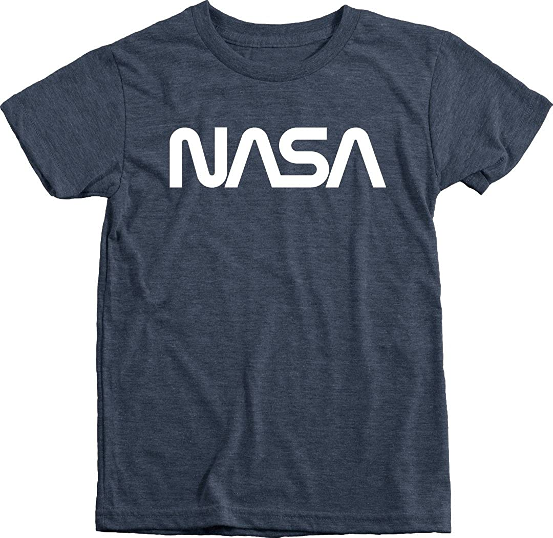 NASA Toddler T-Shirt Vintage Space Shuttle White Tee
